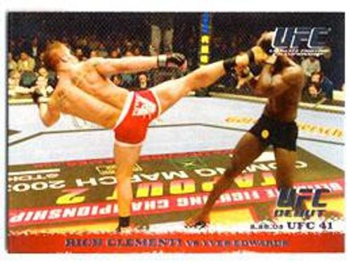 Topps UFC 2009 Round 1 Rich Clementi #13