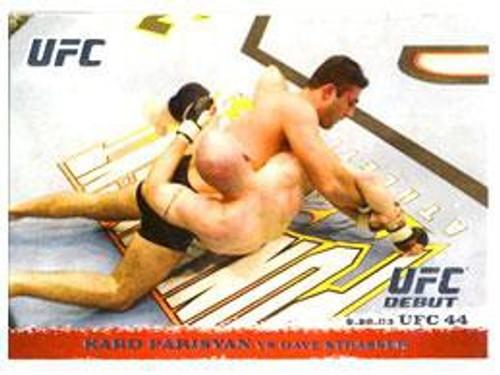 Topps UFC 2009 Round 1 Karo Parisyan #16