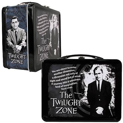 The Twilight Zone Rod Serling Lunch Box