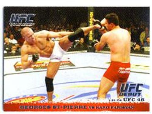 Topps UFC 2009 Round 1 Georges St Pierre #17