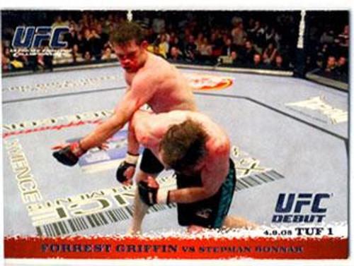 Topps UFC 2009 Round 1 Forrest Griffin #19