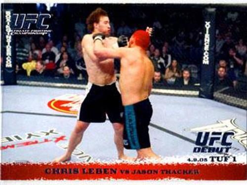 Topps UFC 2009 Round 1 Chris Leben #20