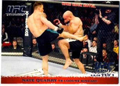 Topps UFC 2009 Round 1 Nate Quarry #22