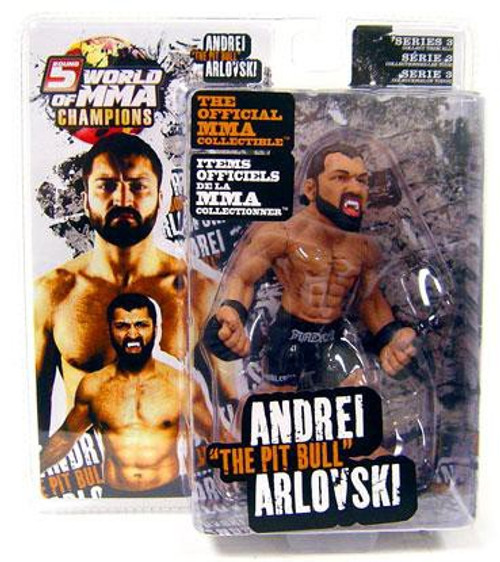 UFC World of MMA Champions Series 3 Andrei Arlovski Action Figure