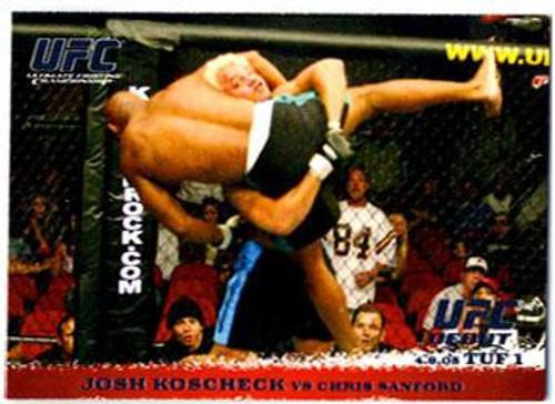 Topps UFC 2009 Round 1 Josh Koscheck #23