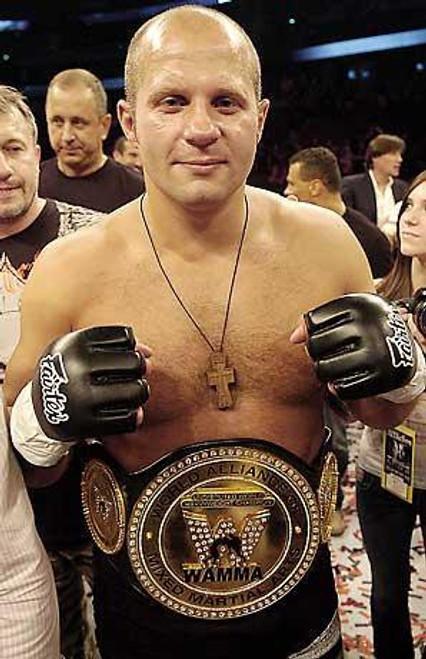 UFC World of MMA Champions Series 4 Fedor Emelianenko Action Figure
