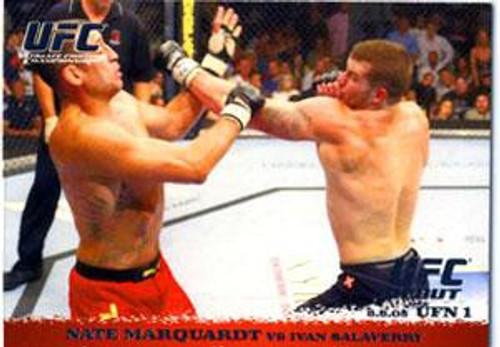 Topps UFC 2009 Round 1 Nate Marquardt #27