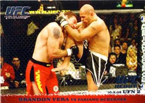 Topps UFC 2009 Round 1 Brandon Vera #34
