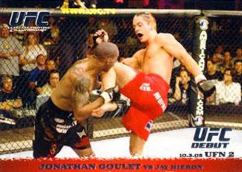 Topps UFC 2009 Round 1 Jonathan Goulet #35