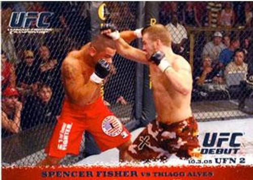 Topps UFC 2009 Round 1 Spencer Fisher #36