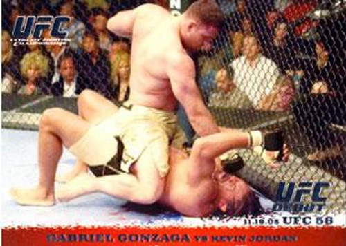 Topps UFC 2009 Round 1 Gabriel Gonzaga #38