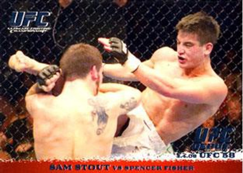 Topps UFC 2009 Round 1 Sam Stout #39