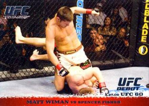 Topps UFC 2009 Round 1 Matt Wiman #40