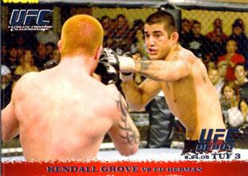 Topps UFC 2009 Round 1 Kendall Grove #41