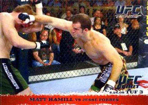 Topps UFC 2009 Round 1 Matt Hamill #43