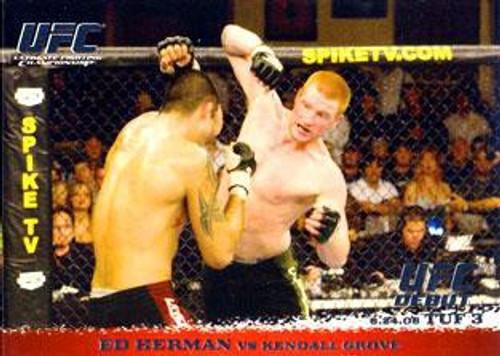 Topps UFC 2009 Round 1 Ed Herman #44