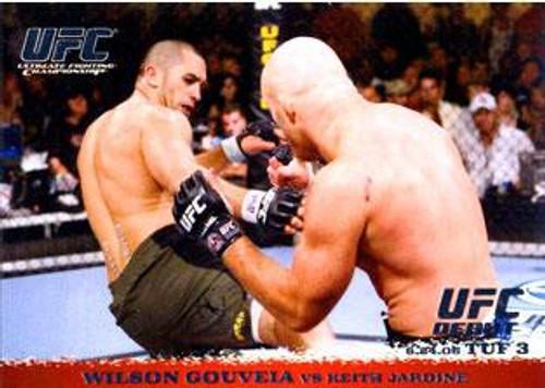 Topps UFC 2009 Round 1 Wilson Gouveia #45