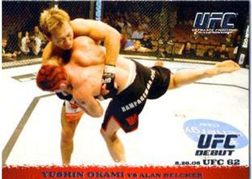 Topps UFC 2009 Round 1 Yushin Okami #50