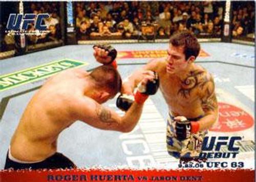 Topps UFC 2009 Round 1 Roger Huerta #51
