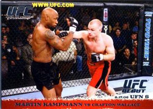 Topps UFC 2009 Round 1 Martin Kampmann #49