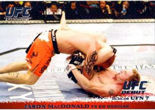 Topps UFC 2009 Round 1 Jason MacDonald #54