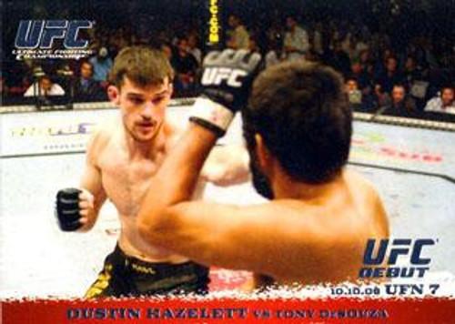 Topps UFC 2009 Round 1 Dustin Hazelett #55
