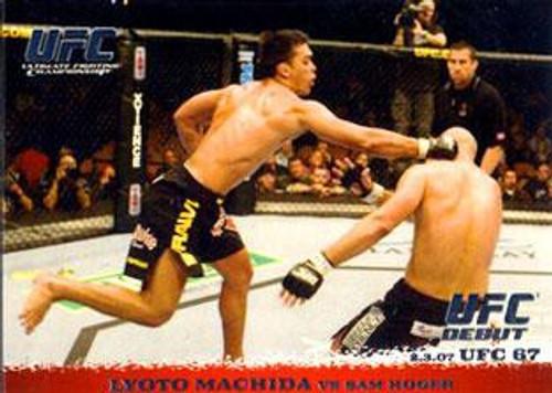 Topps UFC 2009 Round 1 Lyoto Machida #59