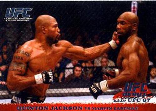 Topps UFC 2009 Round 1 Quinton Jackson #58