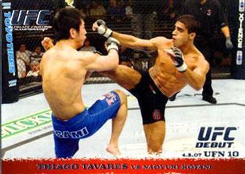 Topps UFC 2009 Round 1 Thiago Tavares #61