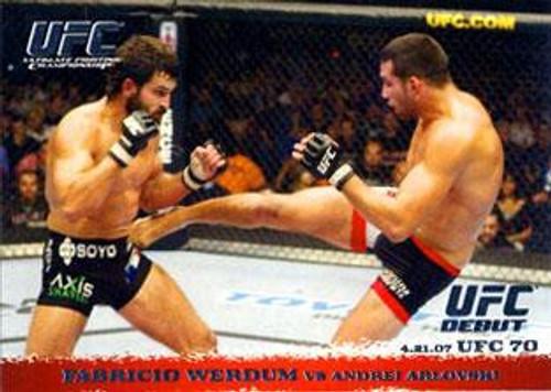 Topps UFC 2009 Round 1 Fabricio Werdum #63