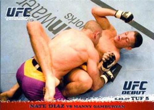 Topps UFC 2009 Round 1 Nate Diaz #66