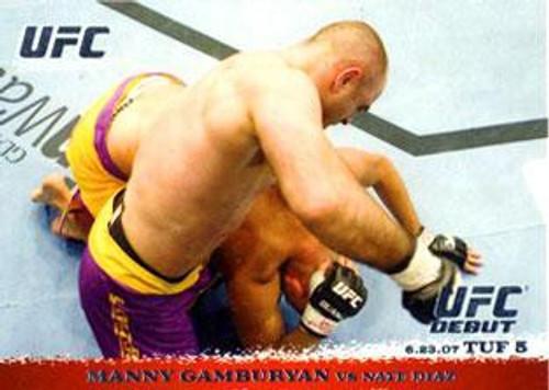 Topps UFC 2009 Round 1 Manny Gamburyan #67