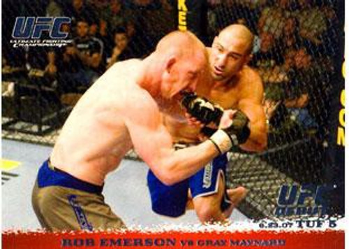 Topps UFC 2009 Round 1 Rob Emerson #68