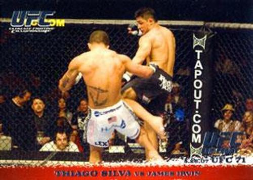 Topps UFC 2009 Round 1 Thiago Silva #65