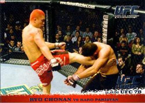 Topps UFC 2009 Round 1 Ryo Chonan #72