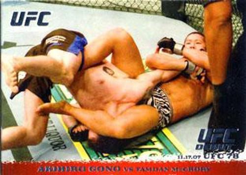 Topps UFC 2009 Round 1 Akihiro Gono #71