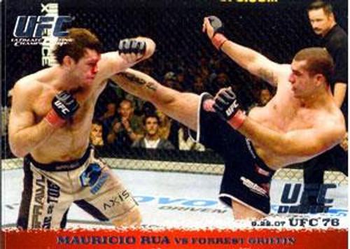 Topps UFC 2009 Round 1 Mauricio Rua #70