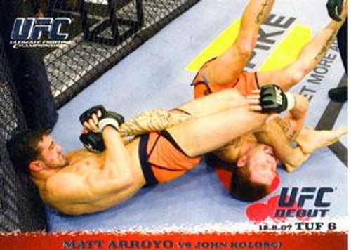 Topps UFC 2009 Round 1 Matt Arroyo #74