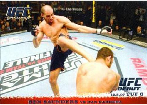 Topps UFC 2009 Round 1 Ben Saunders #73