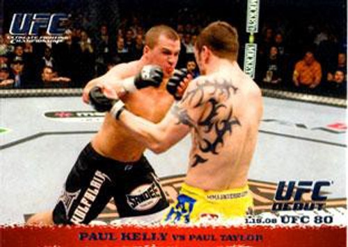 Topps UFC 2009 Round 1 Paul Kelly #79