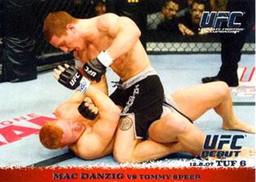 Topps UFC 2009 Round 1 Mac Danzig #75