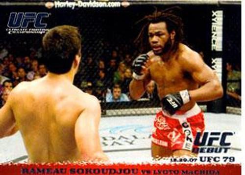 Topps UFC 2009 Round 1 Rameau Sokoudjou #77