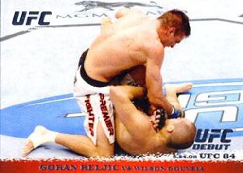 Topps UFC 2009 Round 1 Goran Reljic #83