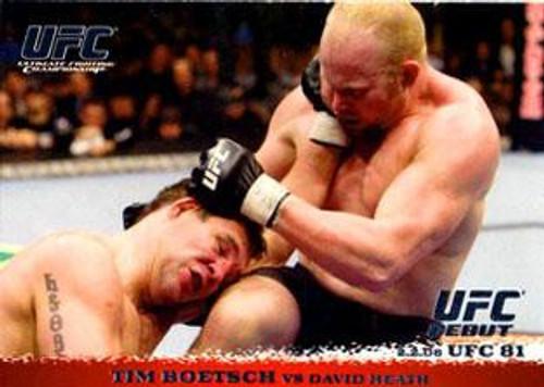 Topps UFC 2009 Round 1 Tim Boetsch #80