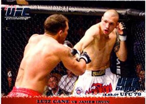 Topps UFC 2009 Round 1 Luiz Cane #78