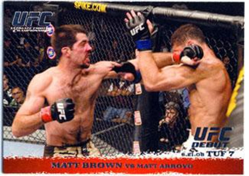 Topps UFC 2009 Round 1 Matt Brown #86