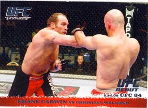Topps UFC 2009 Round 1 Shane Carwin #84