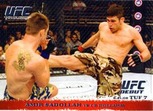 Topps UFC 2009 Round 1 Amir Sadollah #87