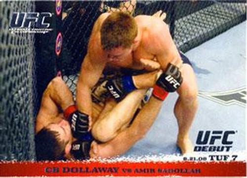 Topps UFC 2009 Round 1 CB Dollaway #88