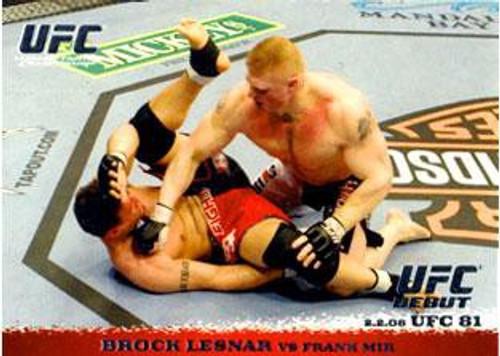 Topps UFC 2009 Round 1 Brock Lesnar #81